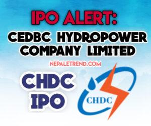 CHDC IPO